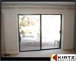 plantation shutters for sliding doors sliding door shutters awesome sliding glass door shutters photographs