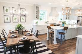 narrow dining room table small colors kitchen combo design ideas living paint for and beautiful combined
