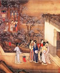 old painting of qing dynasty