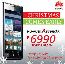 huawei phones price list. huawei ascend p1 christmas sale - price drop for p6,990 until sept 8, 2013 phones list
