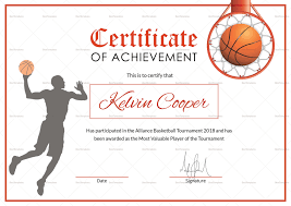Best Solutions Of Free Sports Certificate Templates For Best Photos