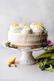 Lemon Layer Cake With Lemon Cream Cheese Buttercream Sallys