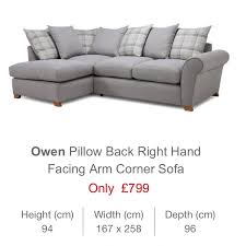 dfs only 8 month old grey corner sofa
