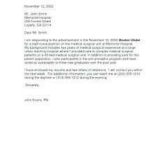 Rn Cover Letter Template Nursing Cover Letter Examples New Popular