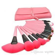 professional makeup brush set tools make up toiletry kit wool brand make up brush set case 24 pcs makeup brush set makeup brush set make up toiletry kit