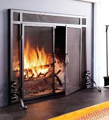 glass fireplace screen free standing ornamental fireplace screens with doors a safety fireplace screens with glass