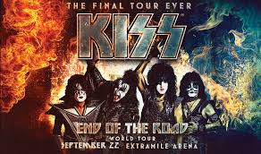 Kiss End Of The Road World Tour Extramile Arena