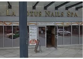 vancouver nail salon la lotus nails spa