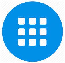 Apps Symbol Apps Grid List Menu Icon