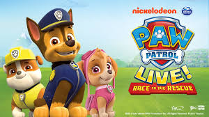 view paw patrol live race to the rescue