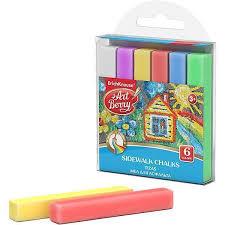 <b>Мелки для асфальта</b> ArtBerry® 6 цветов - разноцветный ...