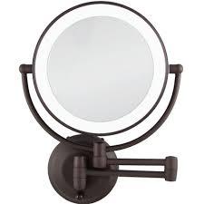 hardwired makeup mirror magnifying mirror 10x zadro mirrors