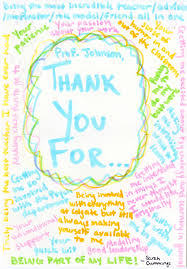 Colgate Students Thanking Faculty Mentors