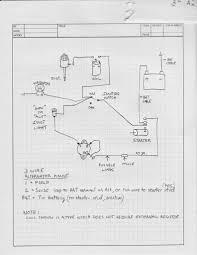 3 wire alternator schematic inside delco remy wire alternator 3 Wire Alternator Schematic 3 wire alternator wiring diagram motorcraft brilliant delco 3 Wire Alternator Hook Up