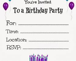 Print Out Birthday Invitations free printable birthday party invitations Free Printable Birthday 69