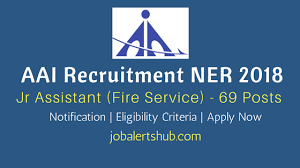 aai recruitment ner for jr assistant fire service posts aai recruitment ner 2018 for jr assistant fire service job notification