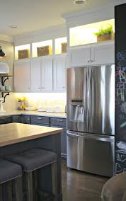 kitchen under bench lighting. Diy Upper And Lower Cabinet Lighting From Thrifty Decor Chick Kitchen Over  Under Downlights Led Counter Kitchen Under Bench Lighting