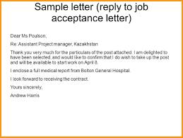 Thanks For Offer Letter Thanks For Job Offer With Thank You Letter For Job Offer And Job