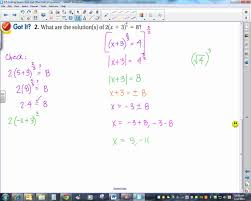 6 5 solving square root and other radical equations