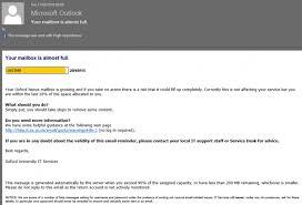 Nexus quota warning messages IT Services Help Site