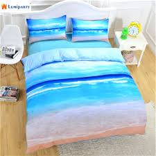 beach themed duvet covers uk ocean scene duvet covers lumiparty unique beach ocean pattern printing bedding sets duvet cover pillow cases bed set 30