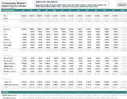 Monthly And Yearly Budget Template Annual Business Budget Template Excel Month Free Monthly
