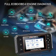 <b>FOXWELL NT614 Elite</b> Car OBD2 Scanner Parking Brake ...