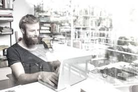 ebay home office. Young Bearded Man Working At Home Office Ebay I