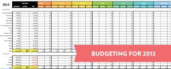 Household Budget Template Excel Business Spreads On Sample Business ...