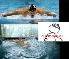 Swimming Memes via Relatably.com