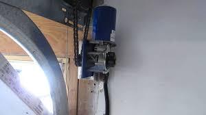 genie 2022 side mount garage door opener jackshaft custom