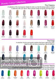 Passion Flower Industries Colour Charts By