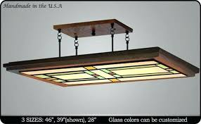 mission style ceiling fans mission ceiling light mission style ceiling fan light kit