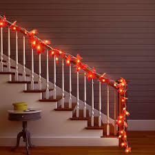 Maple Light Rail Molding Us 2 99 20 Off Xsky Maple Leaves Led String 1 5m 2m 3m Autumn Stair Railing Decoration Plants Fence Party Holiday Lights Aa Battery Operated In Led