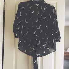 Marisol Bird Top | Chiffon tops, Tops, Top blouse