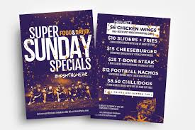 Basic Flyer Template Free Super Sunday Flyer Template Psd Ai Vector