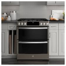 Ft SlideIn Double Oven Gas Range With Lower Convection And Wifi Connect