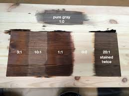 Mixing Wood Stains Looking For Modern Wood Stain Colors Can You Help Me Rebrncom