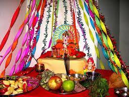 decoration ganesh chaturthi home thumb printing pinterest