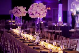 table decor for weddings. Decorating Of Party Page Decor Wedding Table Decorations Purple. New House Ideas. Dining For Weddings