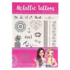 Metalické Tetování Top Model Miju A Nadja