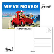 Announcement Postcards Weve Moved Postcards Set Of 50 Moving Announcement Postcards 4