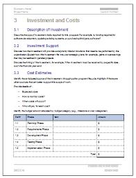 Cost Proposal Templates cost proposal template Matthewgatesco 79