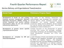 Quarterly Status Report Template Employee Quarterly Performance Report Template Quarterly