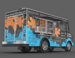 3d Food Truck Design Food Truck 3d Model