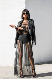 leather and lace combo clothes for women 2019