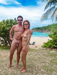 Naked spring break couples