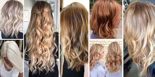 Shades Of Blonde Hair Color Pictures