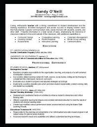 Teacher Resume Objective Statement Examples. Teacher Resume ...