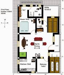 house plan 30 x 45 awesome creative ideas vastu 30 x 45 duplex house plans 11